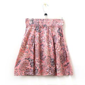Cute H&M Pink Floral Skirt